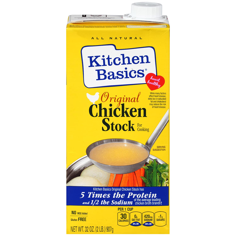 Kitchen Basics Chicken Stock Soup Recipe