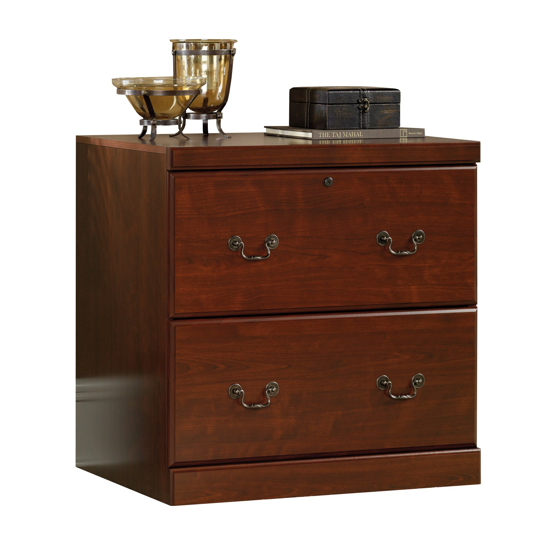 Sauder 102702 Heritage Hill Lateral File, L: 30.12'' x W: 20.47'' x H: 30.12'', Classic Cherry finish by Sauder
