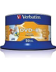 Verbatim Spindle 50 Dvd-R 4 7Gb 16X Print.Xx