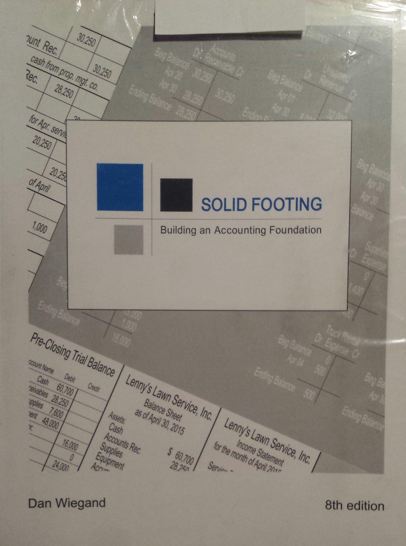 Read Online SOLID FOOTING-W/ACCESS ebook