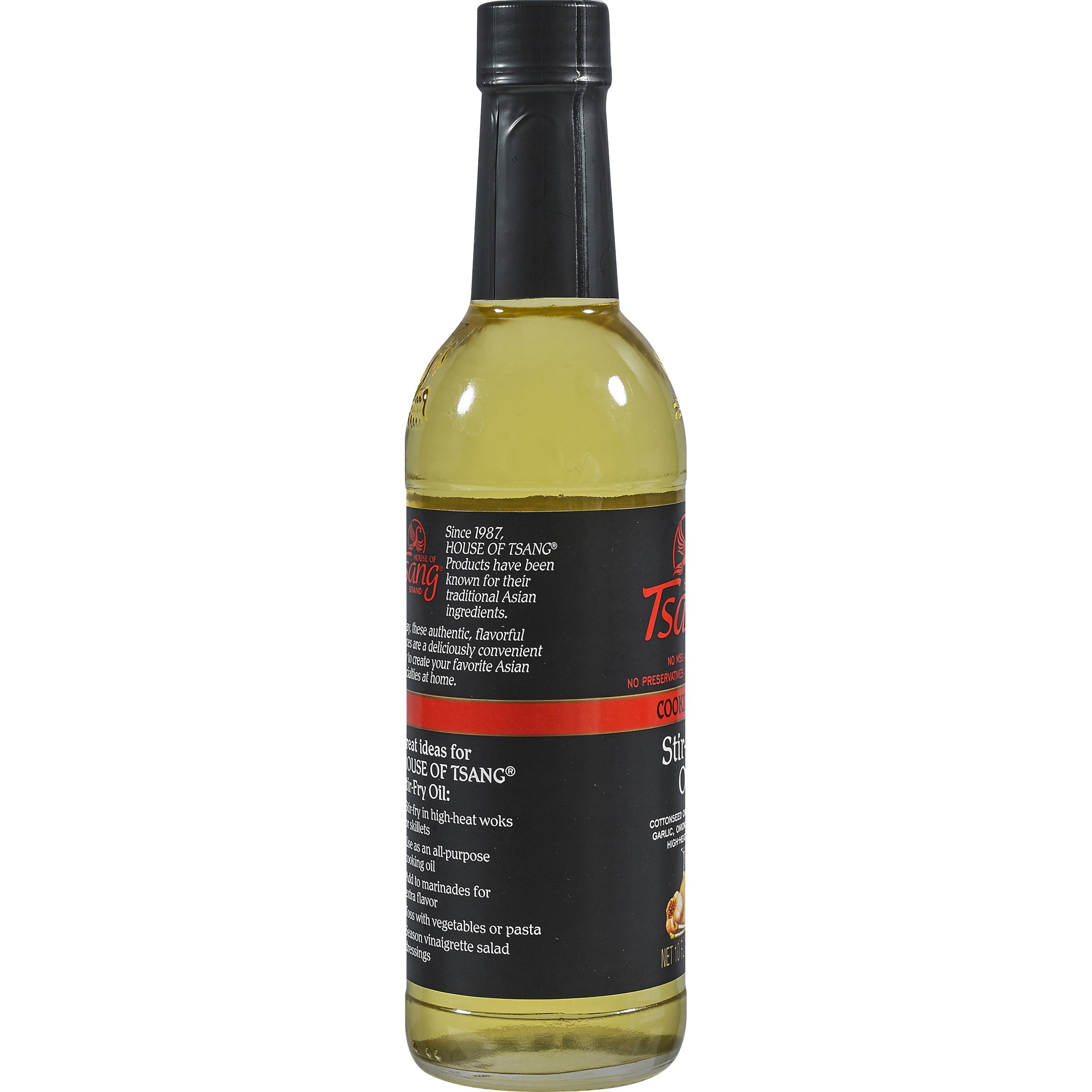 PACK OF 12 - House of Tsang Stir-Fry Cooking Oil, 10 fl oz by _House of Tsang (Image #3)