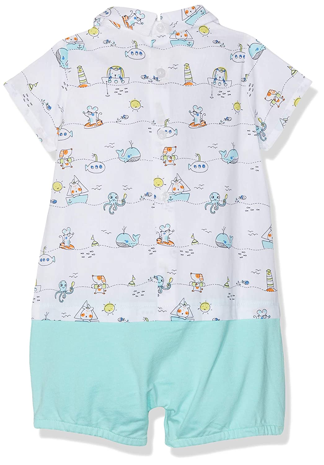 United Colors of Benetton Baby Boys Overall Romper