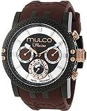 MULCO Lincoln Illusion Swiss Chronograph Analog Watch Multifunctional Movement - Silicone Band