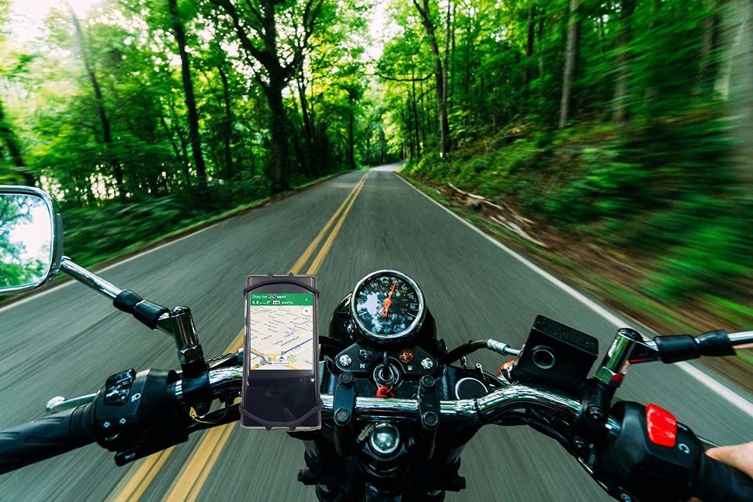 Galaxy S20//S9 Universal Motorcycle Handlebar Mount Fits for iPhone 11 Pro Max//XR//XS Max//8//7// 6//6s Plus SEARCH 2 BUY Bike Phone Mount 360/°Rotation Silicone Bicycle Phone Holder 4.0-6.0 Phones