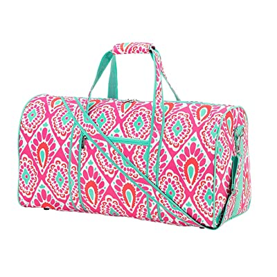 Beachy Keen Special Edition High Fashion Print 21 in Print Duffle, Overnight, Carry On Bag