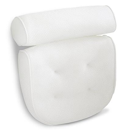 Amazoncom Viventive Luxury Spa Bath Pillow With Head Neck