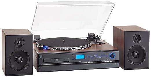 2 opinioni per Dual NR 100x impianto compatto (sintonizzatore DAB (+)/FM, lettore CD/MP3,