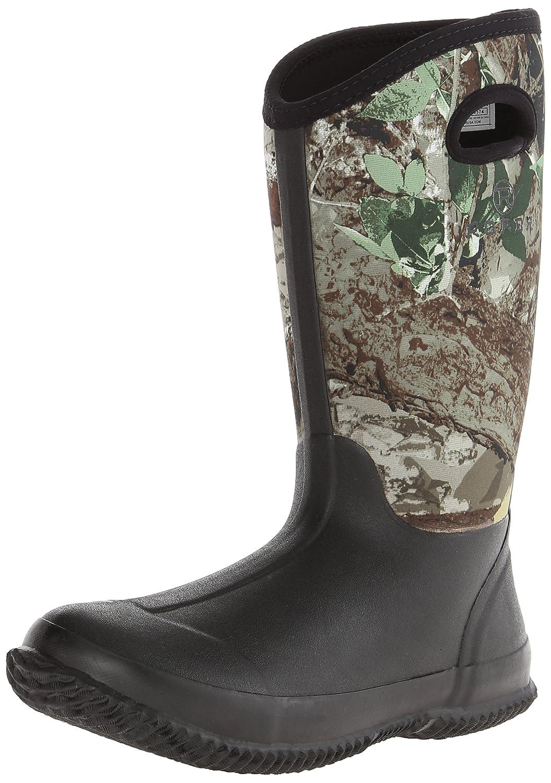 Roper Women's Barnyard Camo Lady Rain Shoe B00LEWT37E 6 B(M) US Black