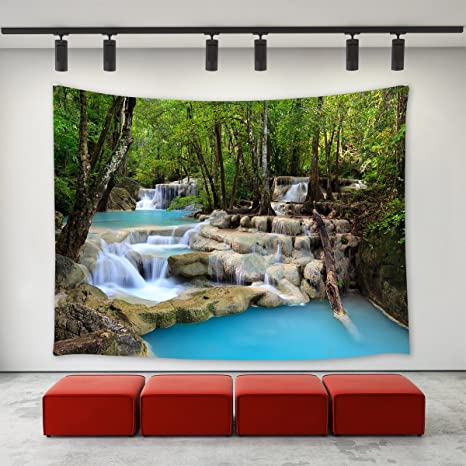 Nature Scenery Art Print Tapestry Wall Hanging Tapestry Bedspread Tapestry Decor