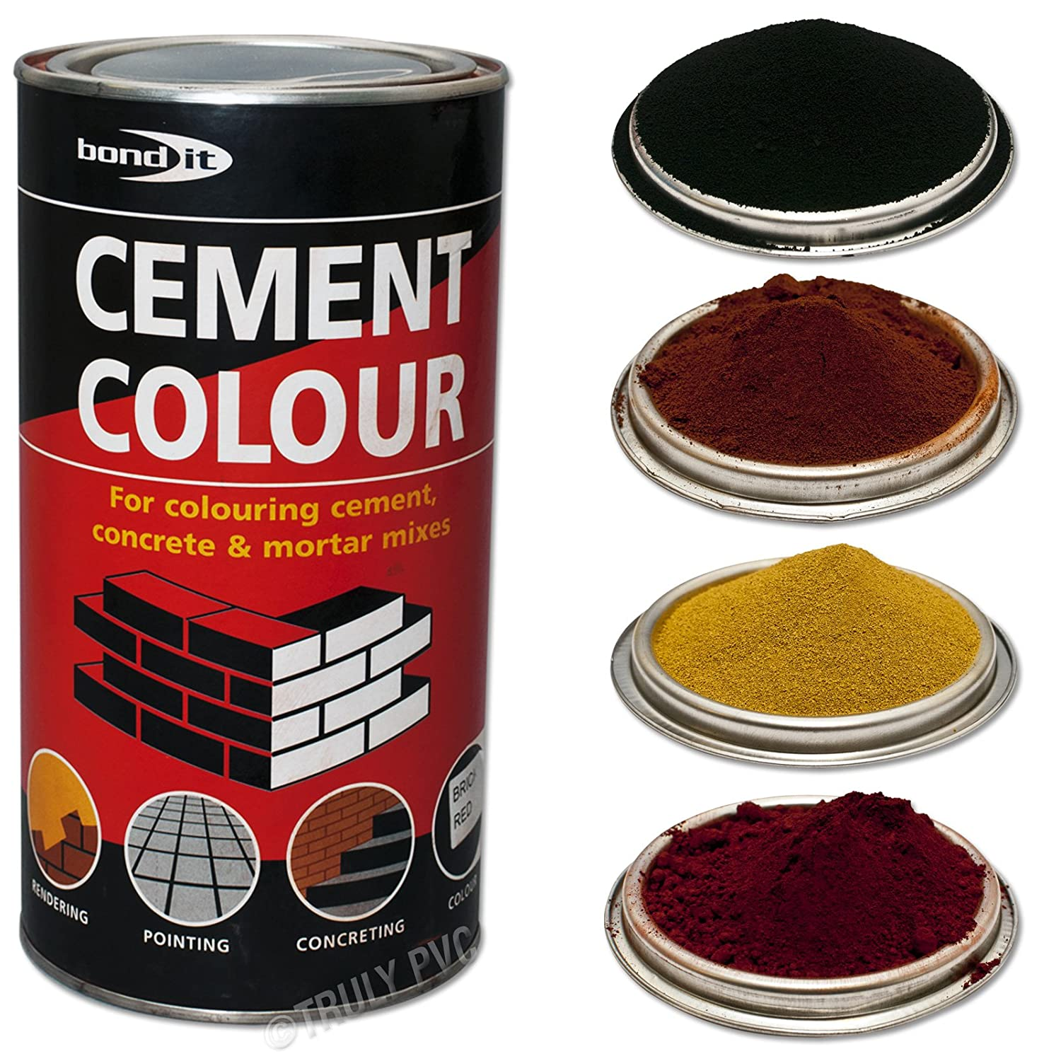 Bond-It Buff-Yellow 1kg Cement colour toner / dye / pigment - A tin ...