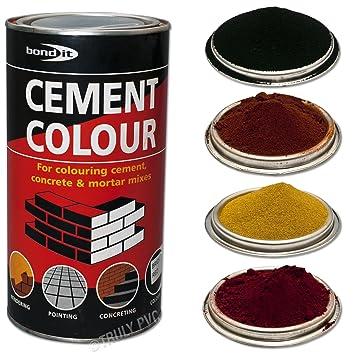 Bond-It Buff-Yellow 1kg Cement colour toner / dye / pigment - A tin ...