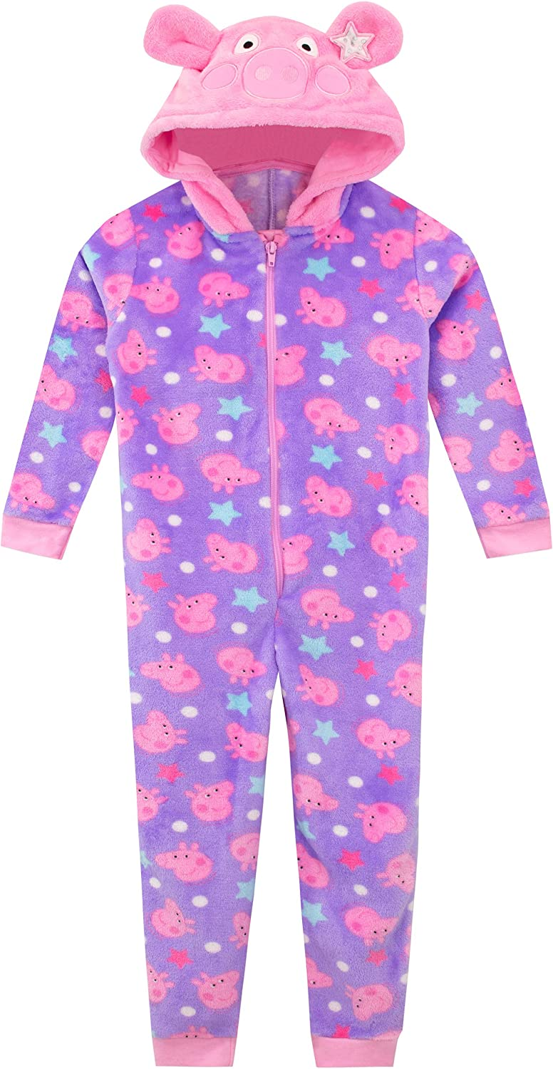Peppa Pig Pajama Girls Toddler Blanket Sleeper Onesie