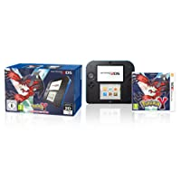 Nintendo 2DS (schwarz+blau) inklusive Pokemon Y (Limited Edition)