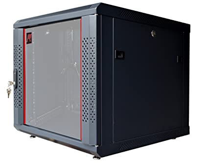Ordinaire 12U Server Rack Cabinet Enclosure. ACCESORIES FREE! Vented Shelf, Cooling  Fan, Power