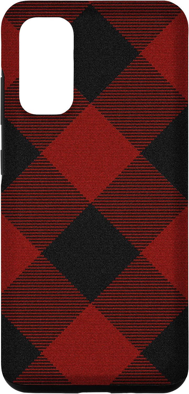 Galaxy S20 Buffalo Design Decor Plaid Pattern Christmas Red Case