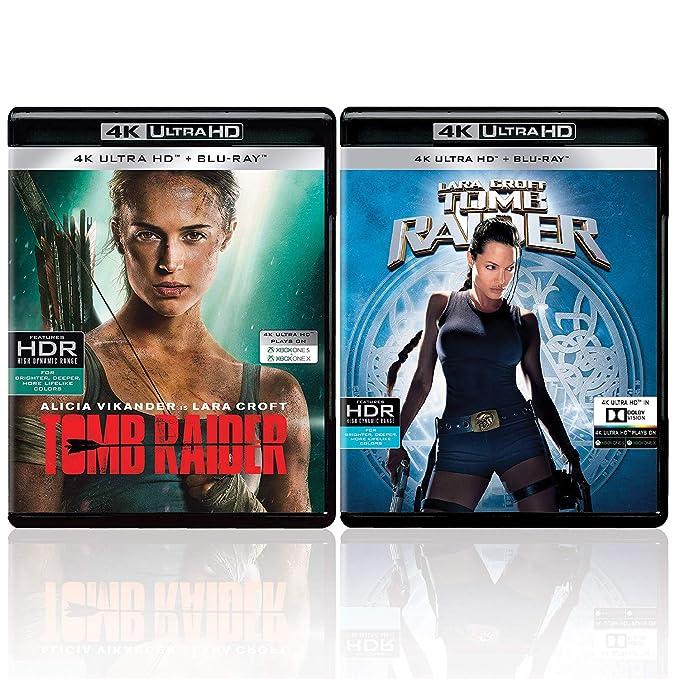 Amazon In Buy Lara Croft 2 Movies Collection Tomb Raider
