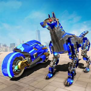 Robot de perro policía de transformación múltiple: Amazon.es: Appstore para Android