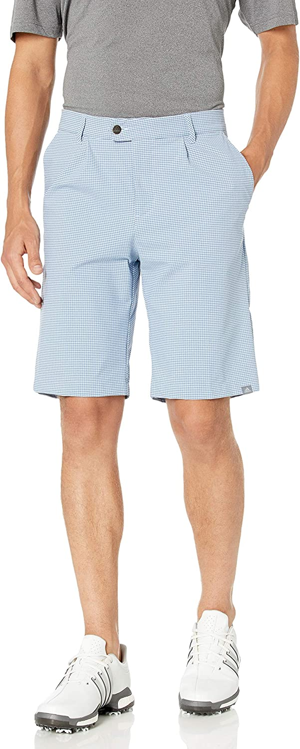 adidas Golf Men's Ultimate Limited time for free shipping 365 Short 2019 Plaid Year-end annual account Gingham Model