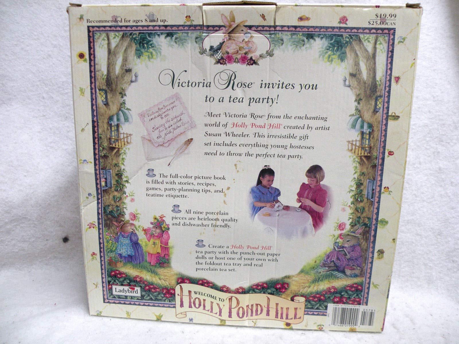 Victoria Roses Tea Party Susan Wheeler 9780721457819 Amazon