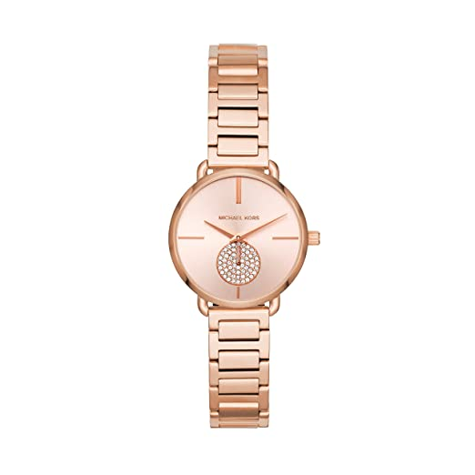 Michael Kors Reloj Analogico para Mujer de Cuarzo con Correa en Acero Inoxidable MK3839: Michael Kors: Amazon.es: Relojes