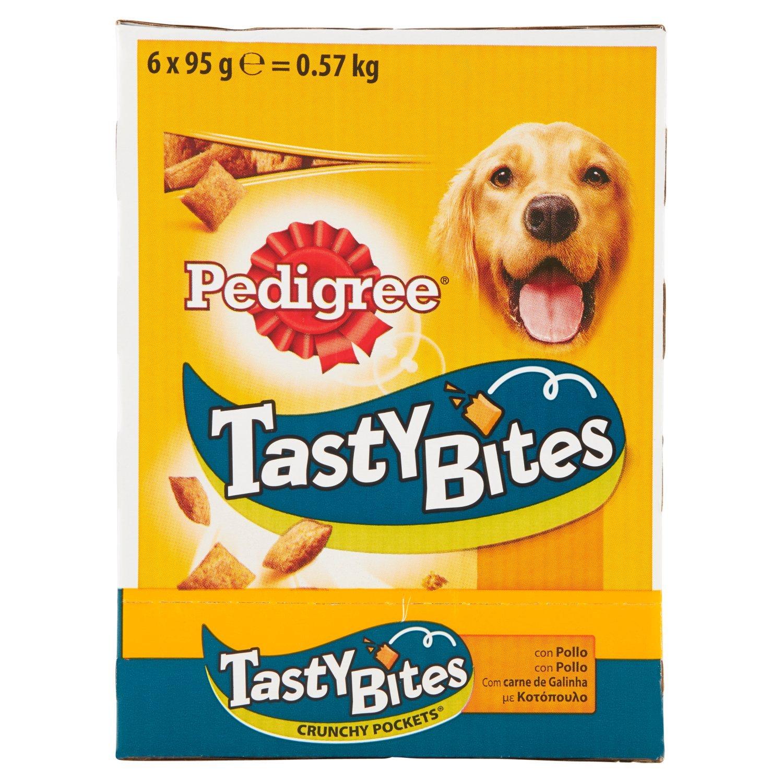 Tasty Bites Crunchy Pockets Premios para Perros para educar - [Pack de 6]: Amazon.es: Productos para mascotas