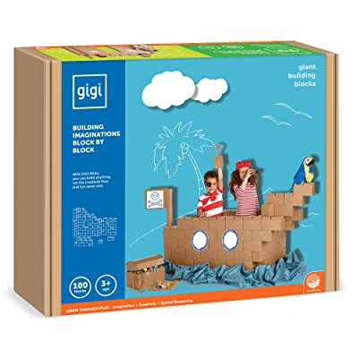 MindWare Building Toys: 100 Gigi Block Set: Toys & Games