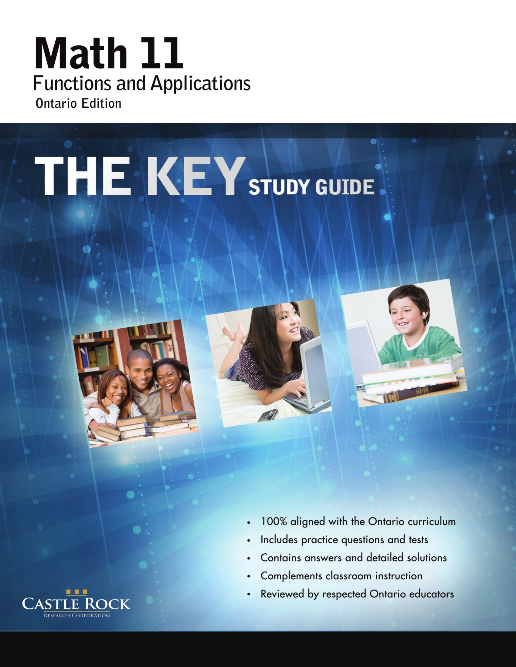 The Key Study Guide Math 11 Functions and Applications PDF ePub ebook