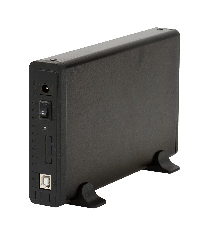 Bluestork BS-EHD-35/COMBO/30 - Carcasa Disco Duro (Externa USB 3.0 Combo con Ventilador para Discos Duros SATA + IDE de 3,5