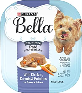 Purina Bella Grain Free Pate Adult Wet Dog Food