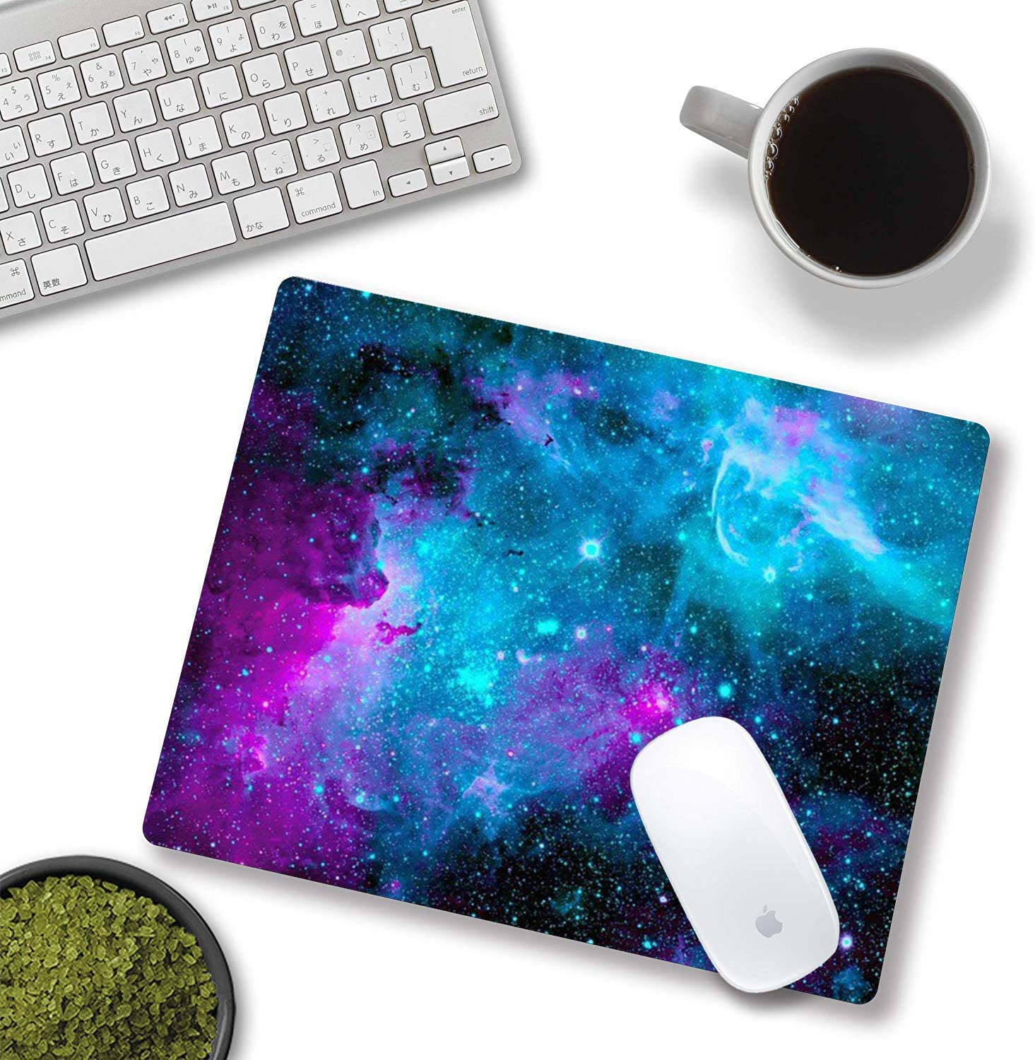 Galaxy Sky Rectangle Non-Slip Rubber Mousepad Gaming Mouse Pad for Laptop Mouse Pad Computer /& PC 11.8 X 9.8 Inch