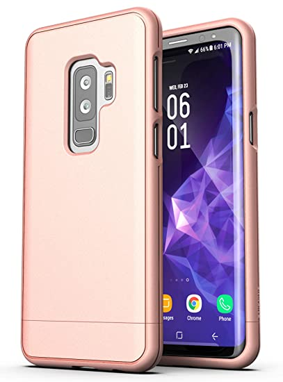official photos fca13 83310 Galaxy S9 Plus Case Rose Gold - Encased [Slim Shield Series] Protective  Grip Phone Case for Samsung Galaxy S9+ (2018 Release)