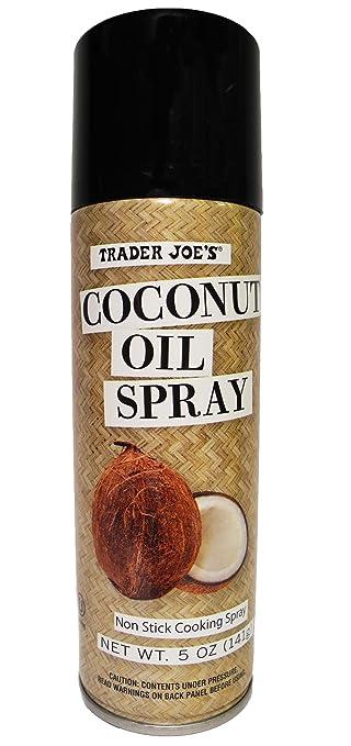 Joe For Oil >> Amazon Com Trader Joe S Coconut Oil Non Stick Cooking Spray