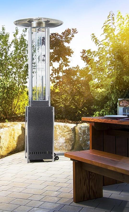 Seta de Calefacción Calentador Radiante Calentador de terraza Calentador de Patio Calentador de Gas óptica