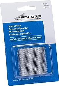 ADFORS Aluminum Screen Patch Repair Kit, Bright