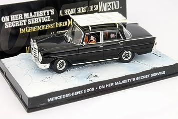 Mercedes-Benz 600 James Bond Movie Car im Geheimdienst Ihrer Majestät 1:43 Ixo