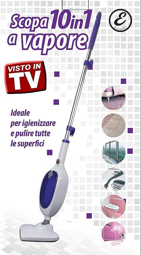 Scopa A Vapore Steam Mop X10 Evolution Tantissimi Accessori L