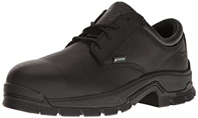 Timberland PRO Men's Stockdale Oxford Alloy Toe Waterproof Industrial and  Construction Shoe, Black Full Grain