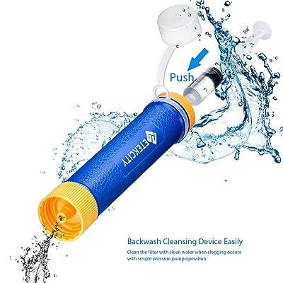 Etekcity Water Filter Straw