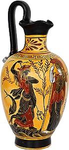 Talos Artifacts Goddess Athena and Poseidon - Dionysus God of Wine Oinochoe Amphora Vase Pottery