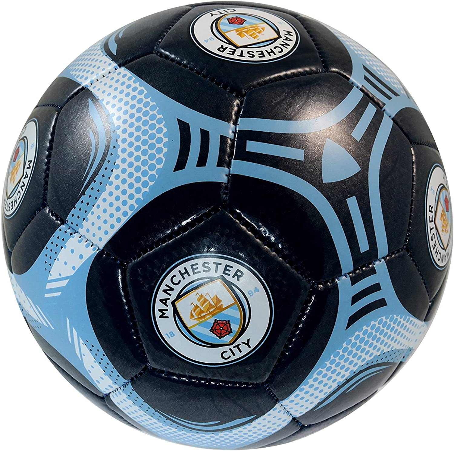 Manchester City F.C Authentic Official Licensed Soccer Ball Size 5-09