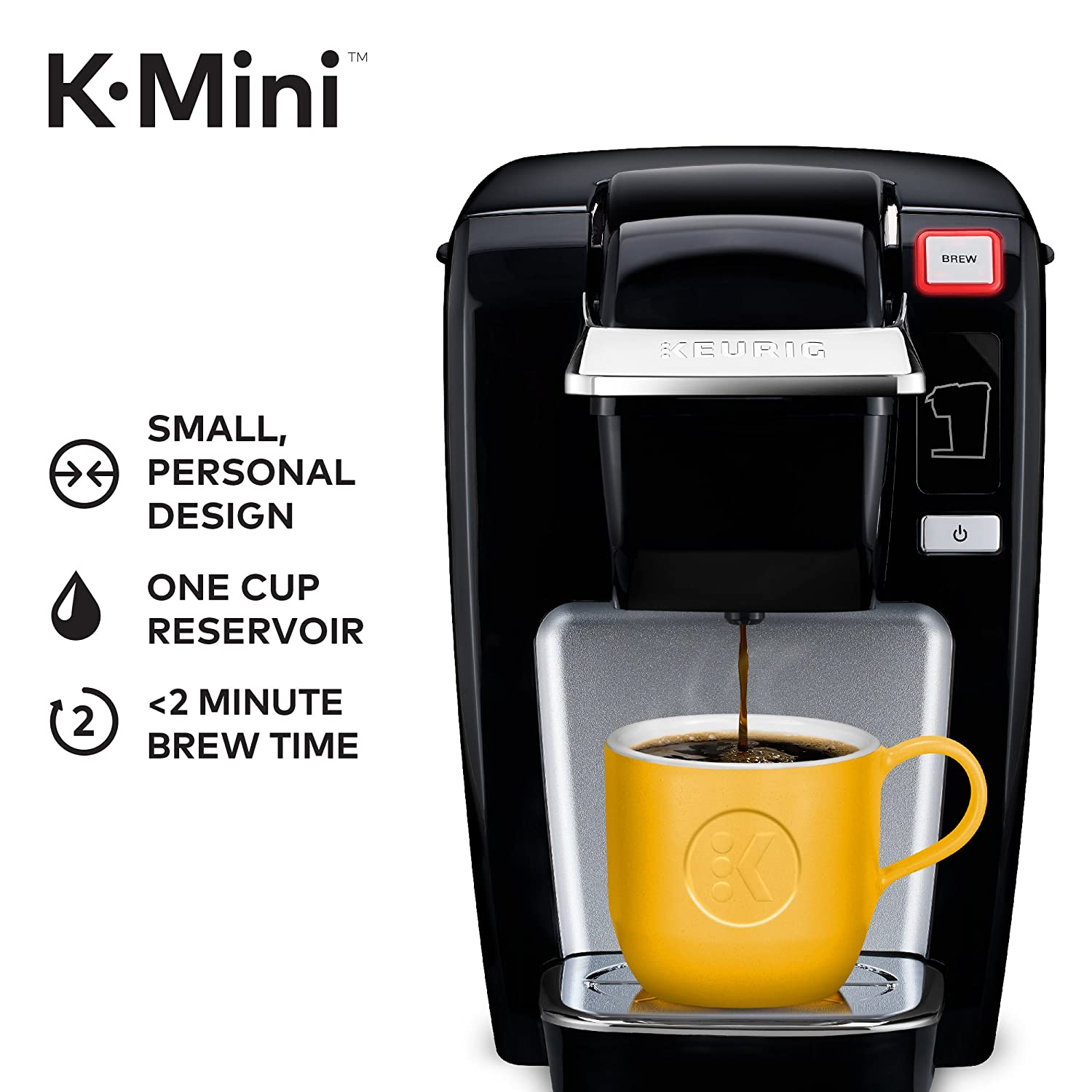 Amazoncom Keurig Mini K15 Single Serve K Cup Pod Coffee Maker