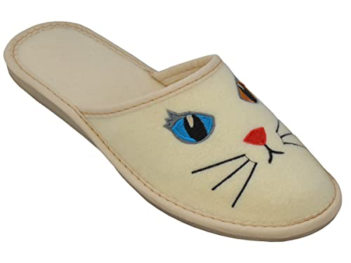 BeComfy - Zapatillas de Estar por casa de Fieltro para Mujer ...