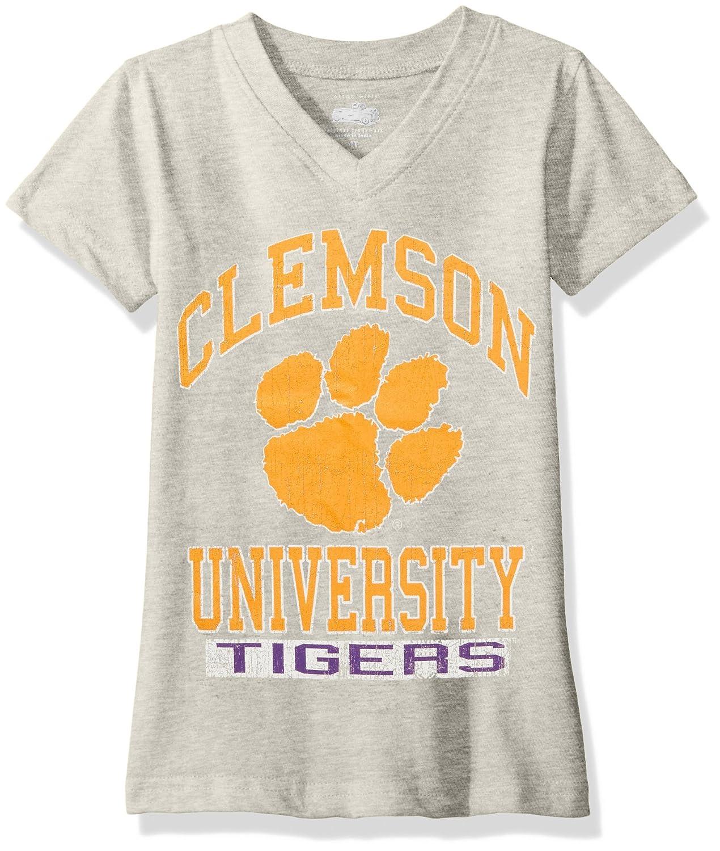 【時間指定不可】 NCAA Clemson Clemson Tigers子供用ガールズVネック半袖Tシャツ、10 B06WWMCPYF NCAA、ヘザー B06WWMCPYF, あきの穂:0ac503b9 --- a0267596.xsph.ru