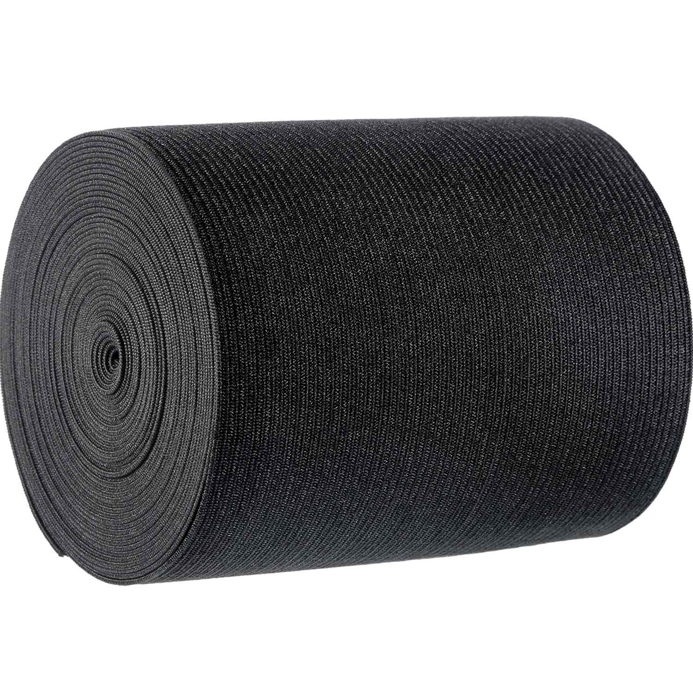 Jovitec Black Knit Elastic Spool, 5 Yard (3 Inch)