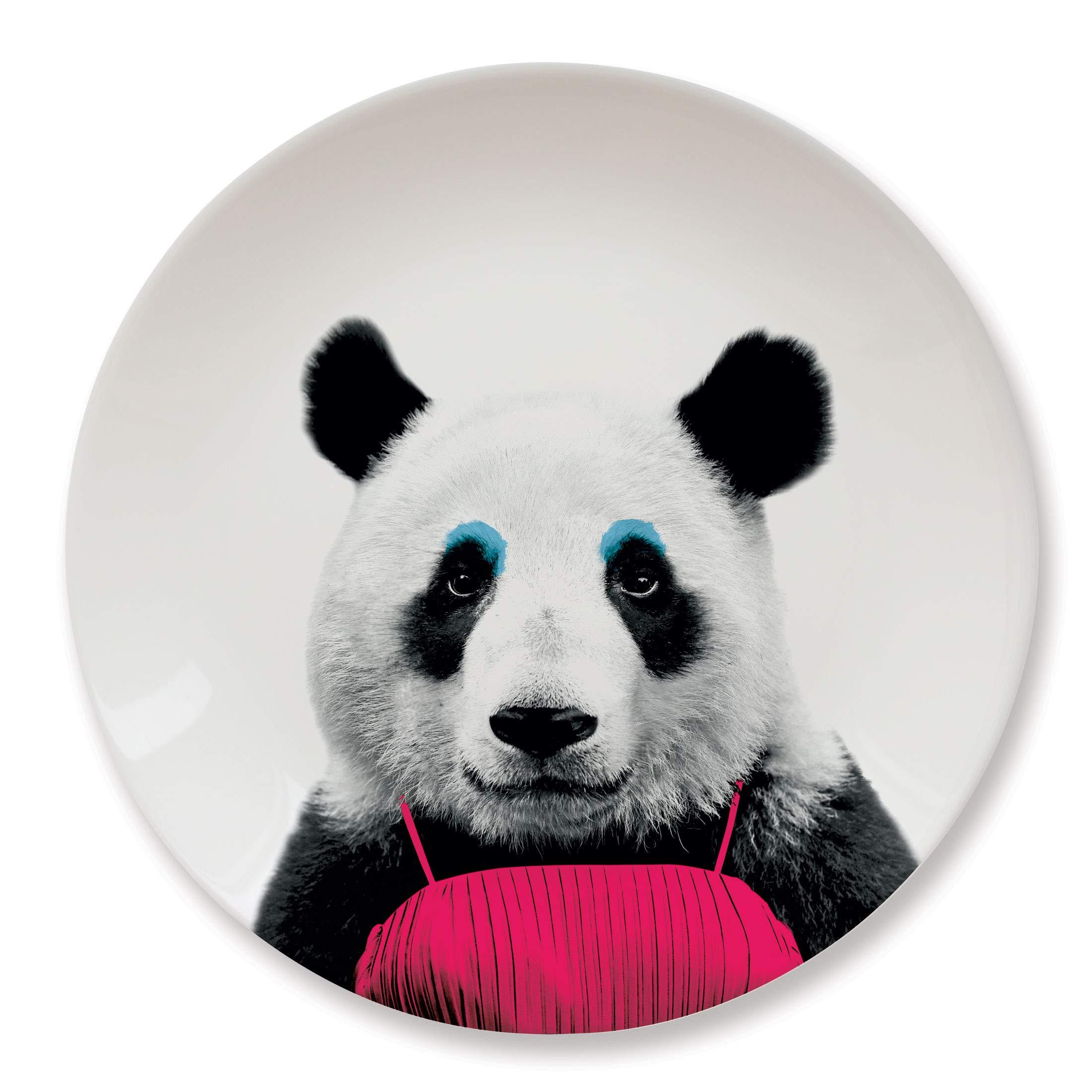 MUSTARD Ceramic Dinner Plate I Dishwasher safe I Dinnerware - Wild Dining Panda