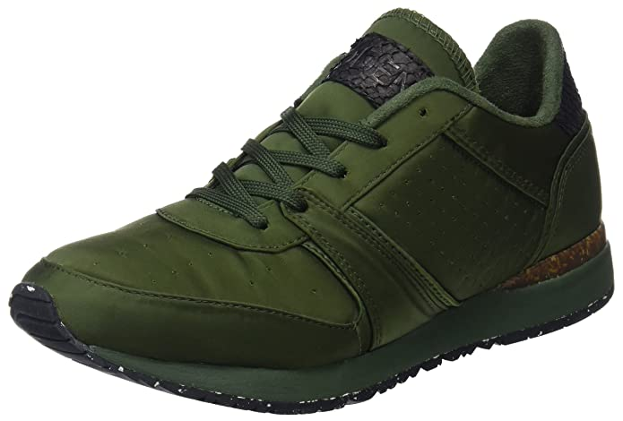 Womens GRO Satin Ns Trainers Woden