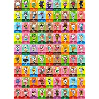 81 Pcs Pack New Horizons ACNH for Series 1-4 Cards NFC Tag Mini Game Rare Character Villager Cards for Switch/Switch…