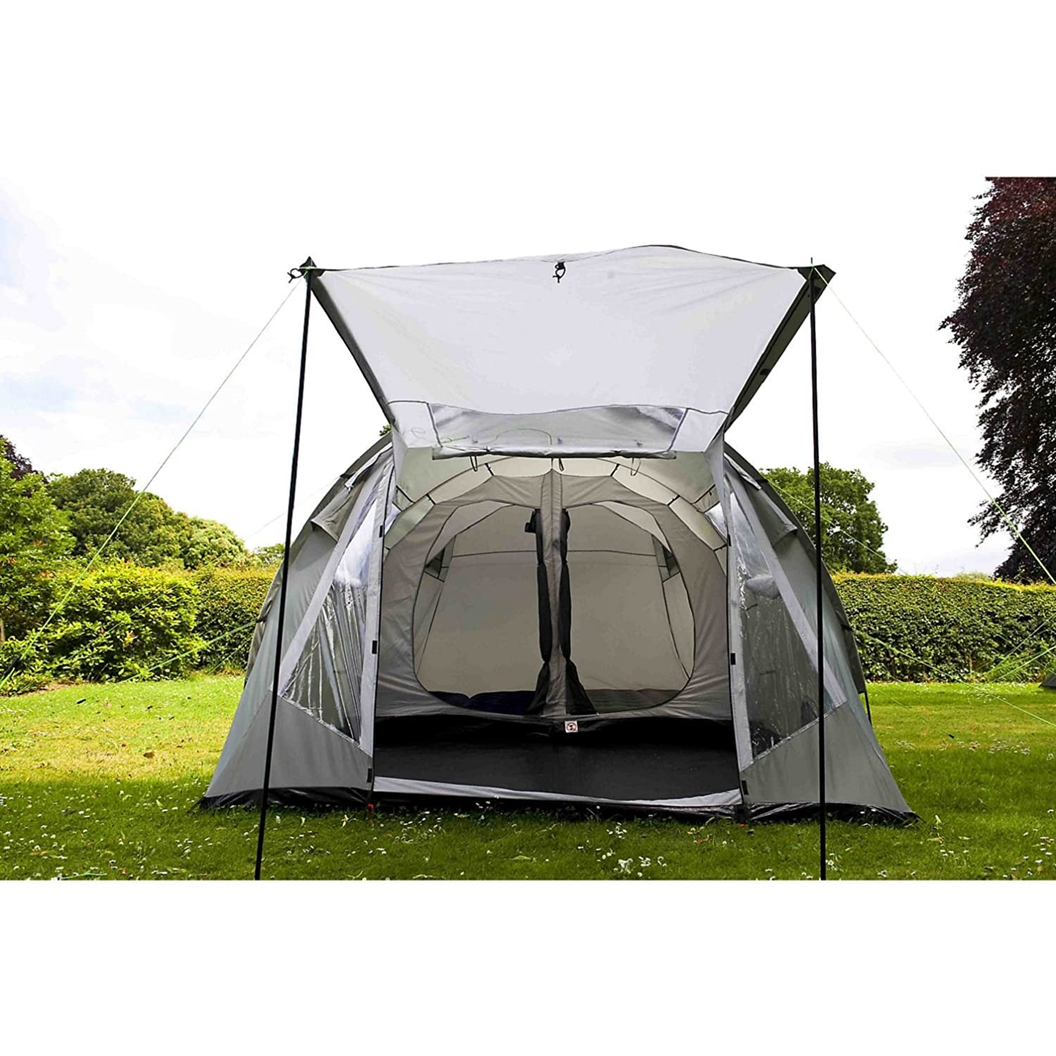 Coleman Coastline Deluxe Tent Green/Grey 4 Person Amazon.co.uk Sports u0026 Outdoors  sc 1 st  Amazon UK & Coleman Coastline Deluxe Tent Green/Grey 4 Person: Amazon.co.uk ...
