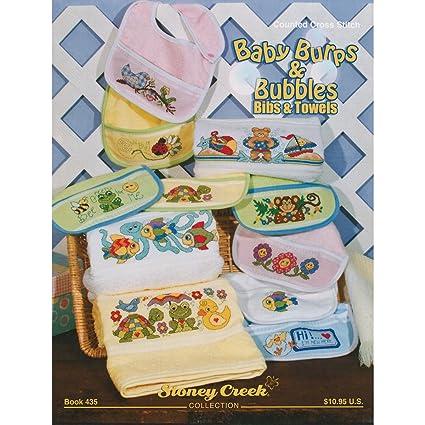 Stoney Creek Papel Baby Burps y Burbujas Baberos y Toallas