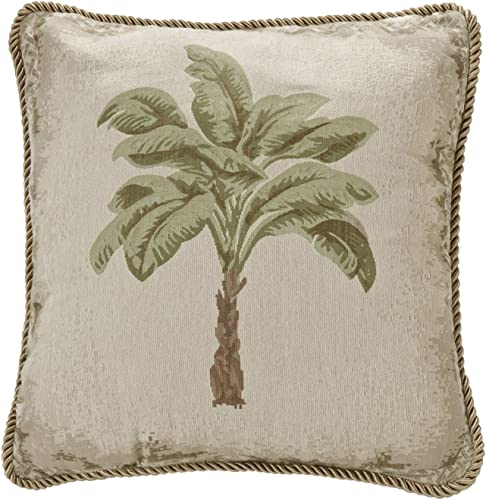 All Seasons Bedding Palm Tree Bolster Pillow